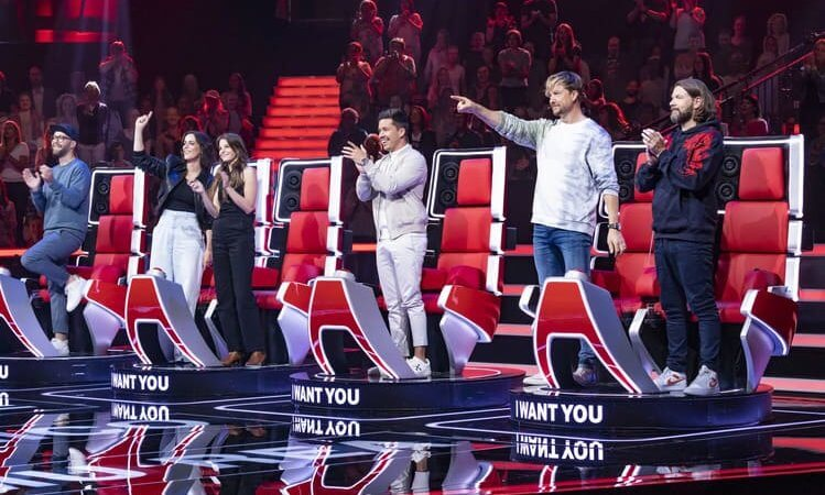 The Voice of Germany (TVOG) startet in die Jubiläumsstaffel